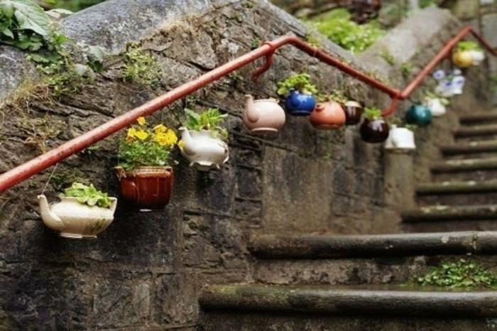 Ausgefallene gartendeko selber machen for Gartendeko selbst gestalten