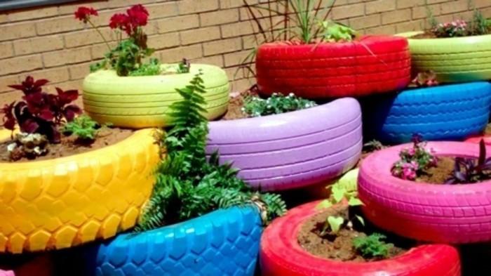 Gartendeko selber machen 50 lustige Ideen  Archzinenet