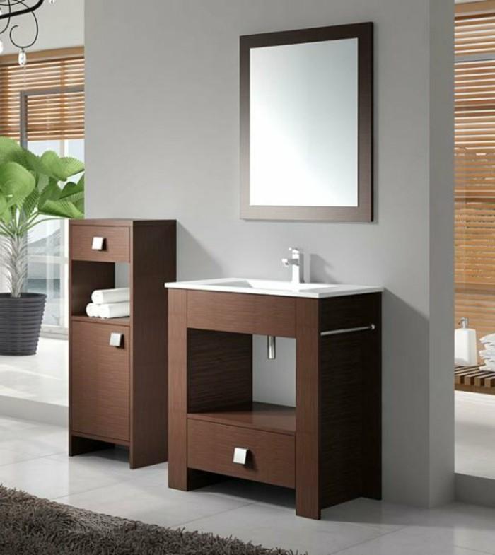 Waschtisch aus Holz fr mehr Gemtlichkeit im Bad  Archzinenet