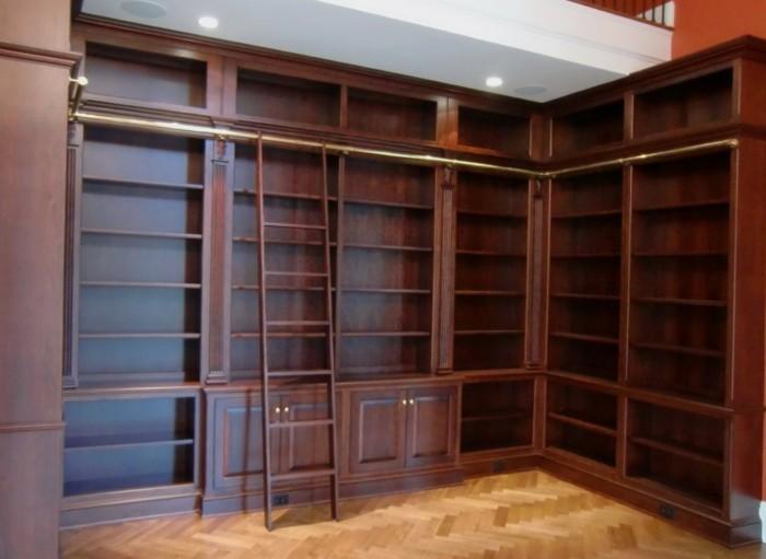 Bücherregal Mit Leiter Ikea Regale Selber Bauen 73 Tolle