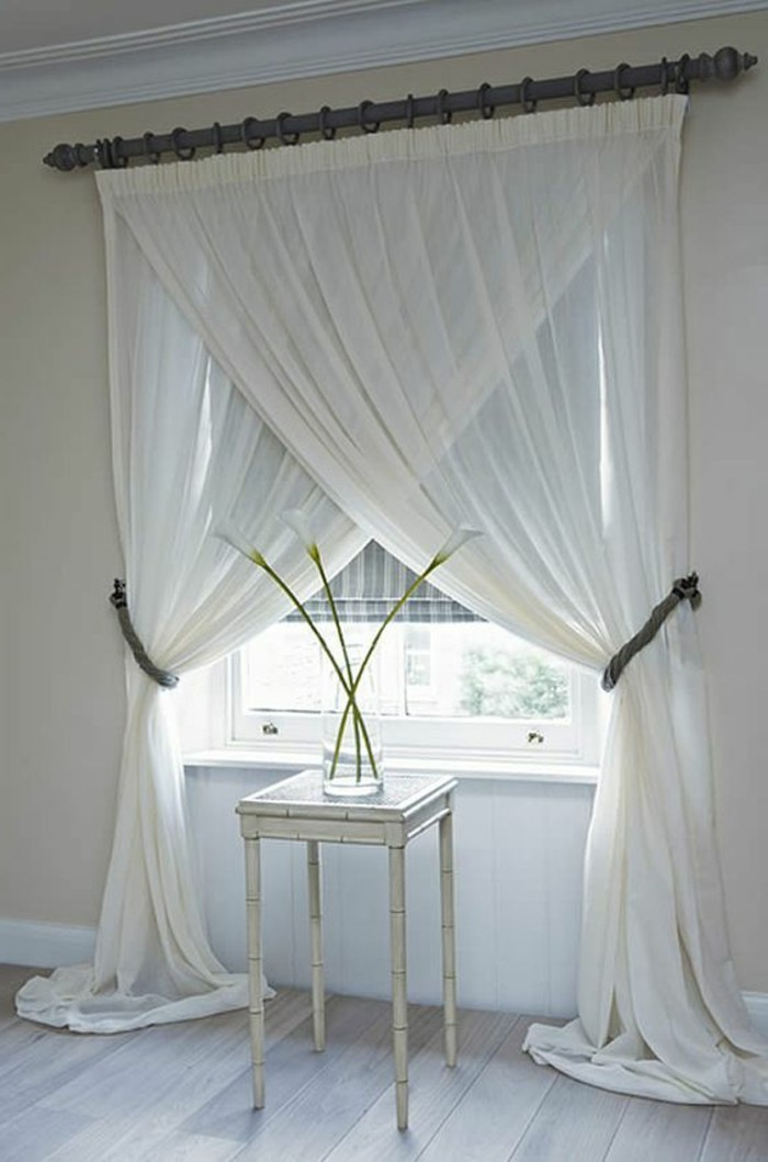 60 elegante Designs von Gardinen fr groe Fenster