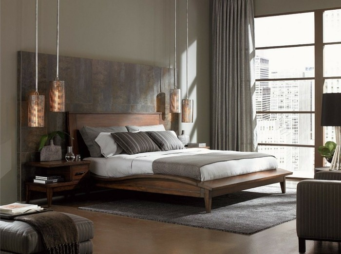 50 beruhigende Ideen fr Schlafzimmer Wandgestaltung  Archzinenet