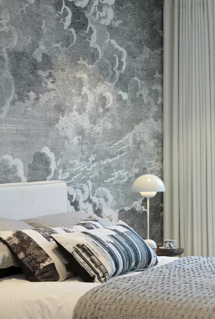 50 beruhigende Ideen fr Schlafzimmer Wandgestaltung