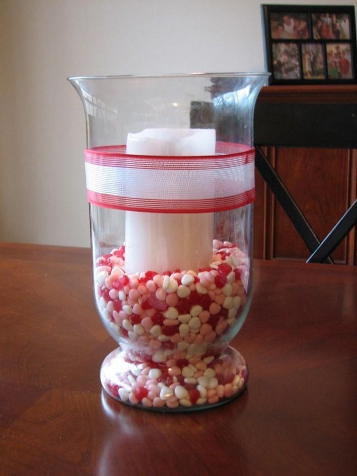 Tischdeko aus Glas originelle Ideen und Tricks
