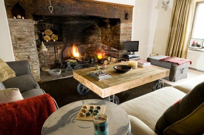 Gemtliches Wohnzimmer gestalten 30 coole Ideen