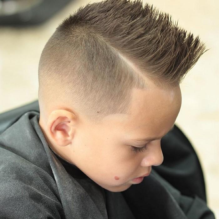 Kinder Jungen Frisur