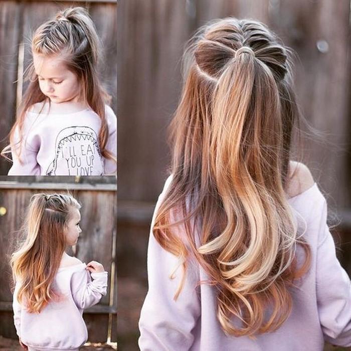 Kinder Frisuren Entzückende Sommer Frisuren Für Kinder