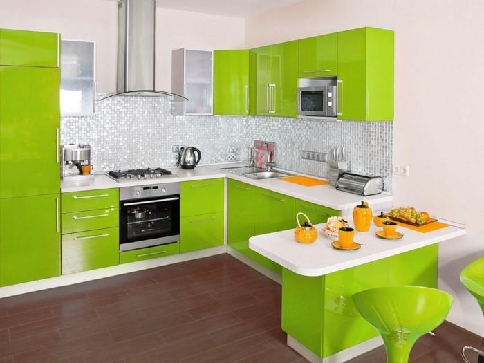 Farbideen Für Küchenwände   Die Küchenwand Streichen ...