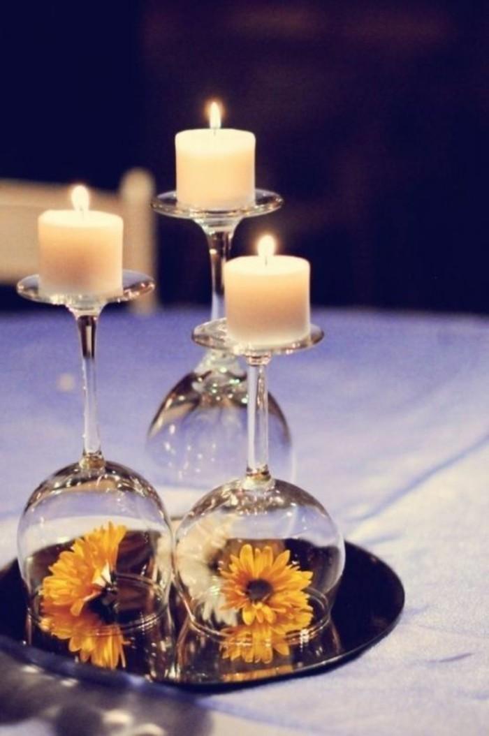 Tischdeko zur Silberhochzeit fr eine unvergessliche Feier  Archzinenet