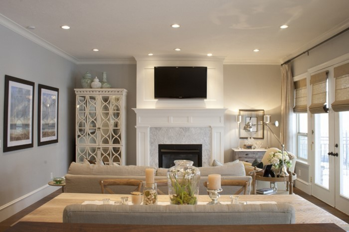wandfarben ideen furs wohnzimmer eine verbluffende deko - boisholz - Wandfarb Ideen