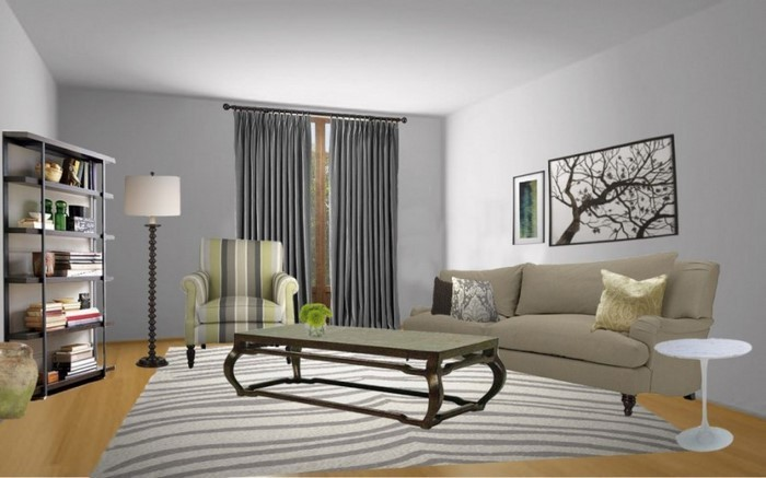 85 moderne Wandfarben Ideen frs Wohnzimmer 2016