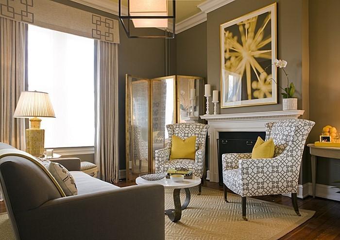 Wohnzimmer Gelb Abomaheber