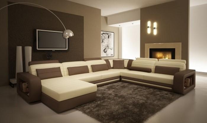 Wohnzimmer Braun tolle Wohnideen fr das Wohnzimmer
