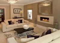 Farbideen Wohnzimmer Braun