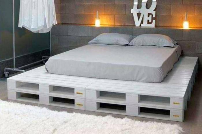 Bett selber bauen  Ideen und Bauanleitungen  Archzinenet