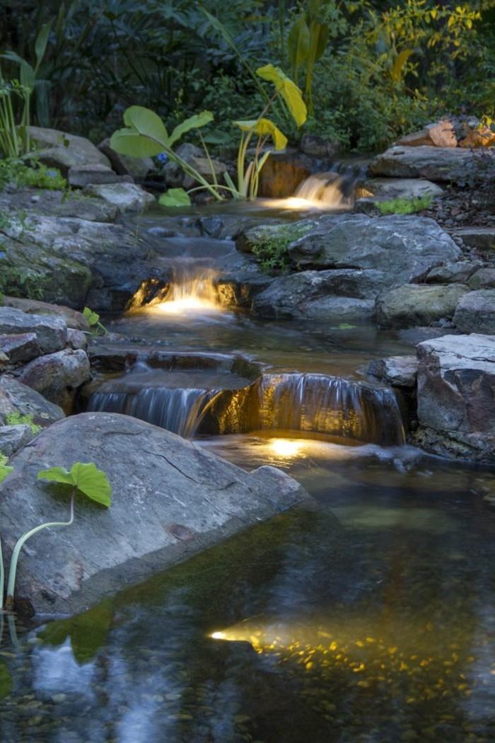 ... Wasserfall Im Garten Mehr Als 70 Ideen! Archzinenet