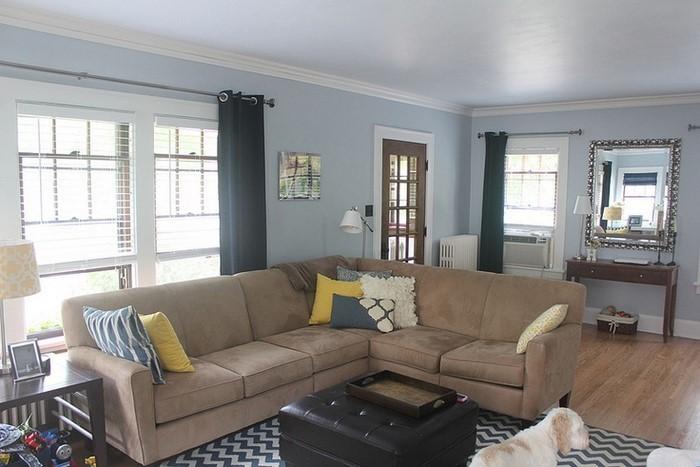 Wohnzimmer Farblich Gestalten Blau sdatec.com