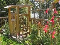 Gartentor selber bauen - 40 super Beispiele! - Archzine.net