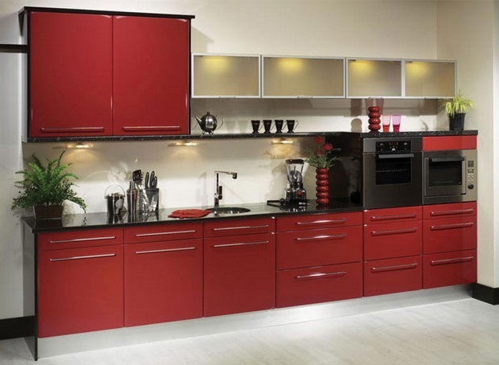 Küche In Rot Gestalten Das Sinnliche Rot