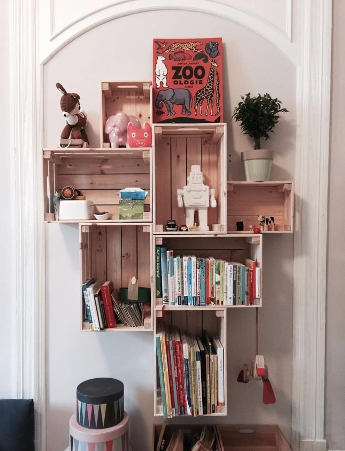 Regal selber bauen kinderzimmer  Regal Kinderzimmer Selbst Bauen Bilder Zu Hochebenehochbett Auf ...