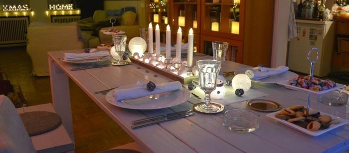 Festliche Weihnachten Kerzen Vektor Clipart Bild