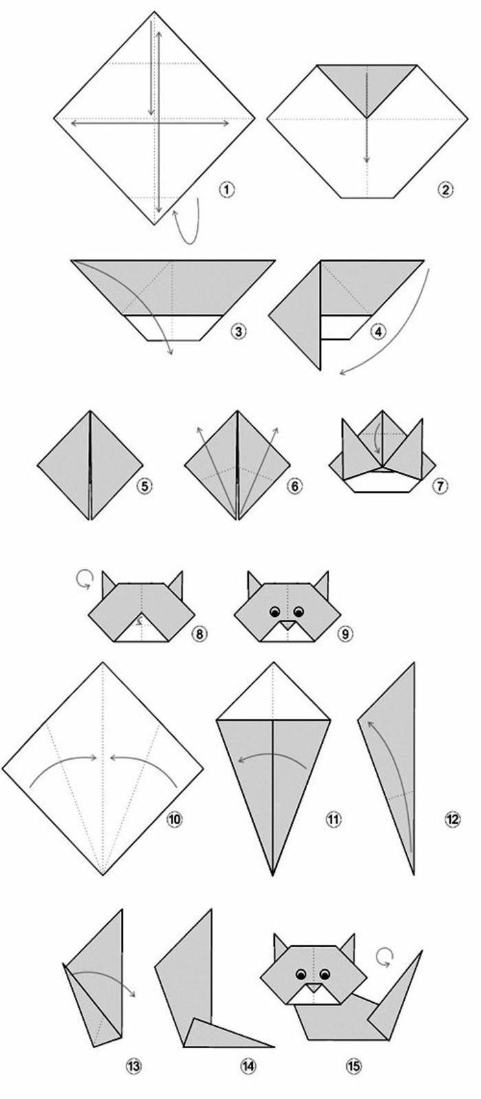 origami flower instruction diagram uk domestic wiring mit origami-papier basteln: die beste faltanleitung - archzine.net