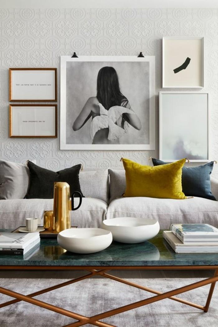 Awesome Wohnzimmer Deko Gold Gallery
