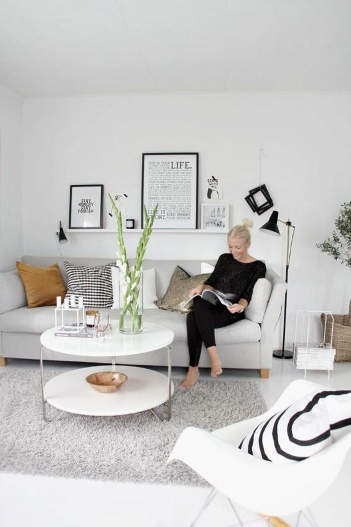 Wohnzimmer Deko Gold ~ Inspirierende Bilder Von Wohnzimmer Dekorieren Wohnzimmer Deko Grau