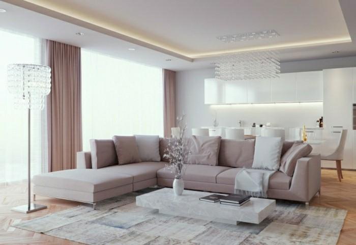 Wohnzimmer Gardinen Ideen Fur Elegantes Wohnzimmer