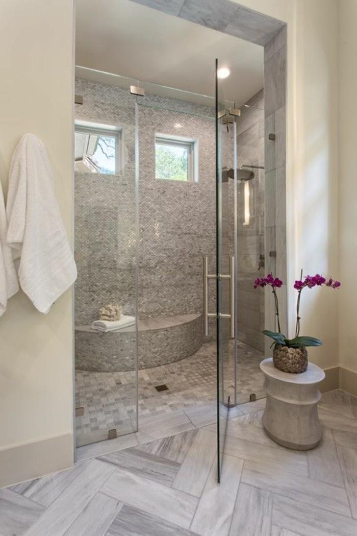 Badezimmer Grau Holz   Wand Streichen In Farbpalette Der ...
