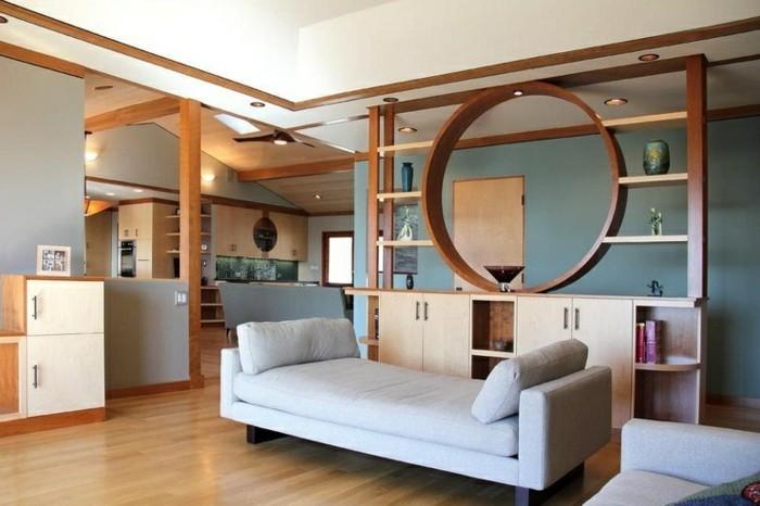 beautiful raumteiler für wohnzimmer photos - home design ideas, Wohnzimmer