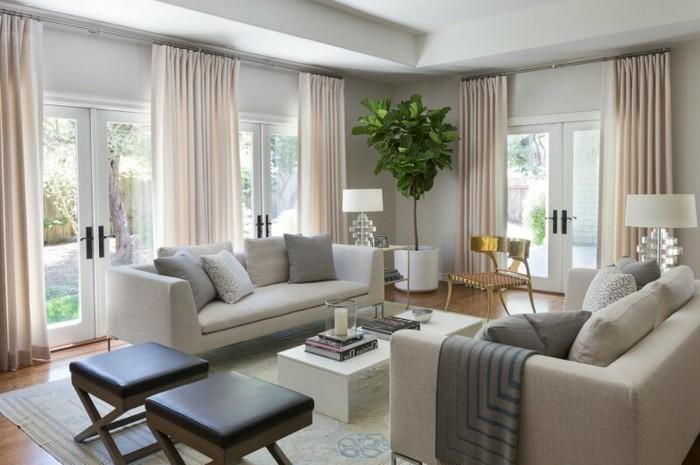 Farbgestaltung Wohnzimmer  Interieurgestaltung  Archzinenet
