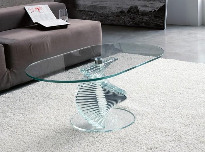 Designer Couchtisch Glas. Couchtisch Glas Holz Design Domi Medium ...