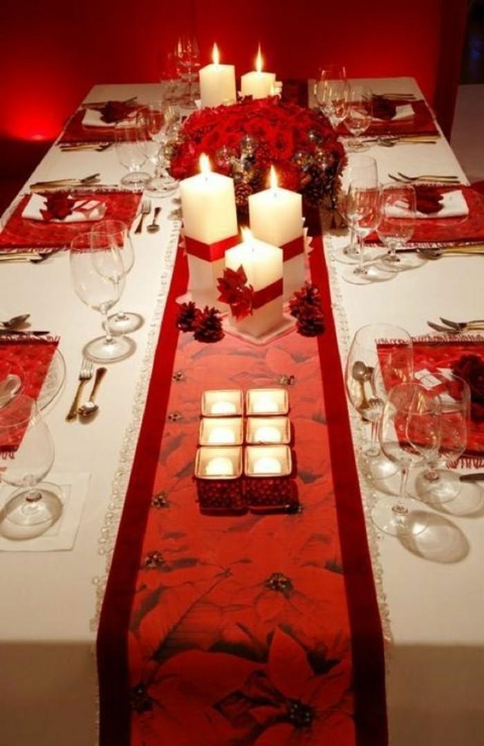 Weihnachtliche Tischdeko Schaffen Sie eine wirklich