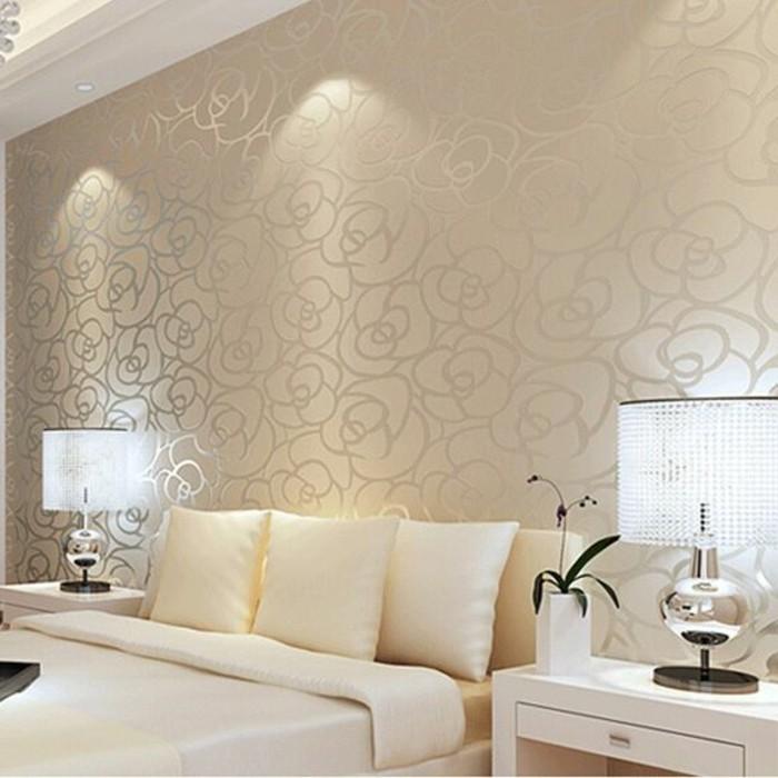 Schlafzimmer Beige Wei Modern Design