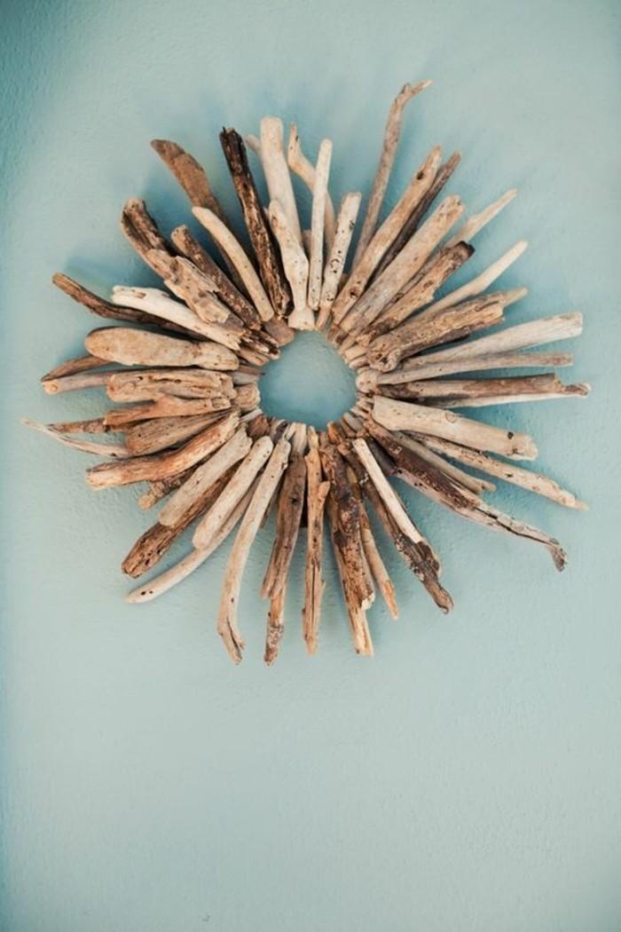 Basteln mit Treibholz DIY Deko mit Erinnerungen an den Strandurlaub
