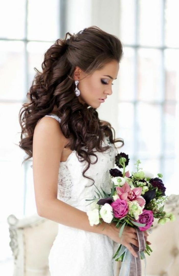 1001 Ideen und Inspirationen fr silvolle und moderne Hochzeitsfrisuren