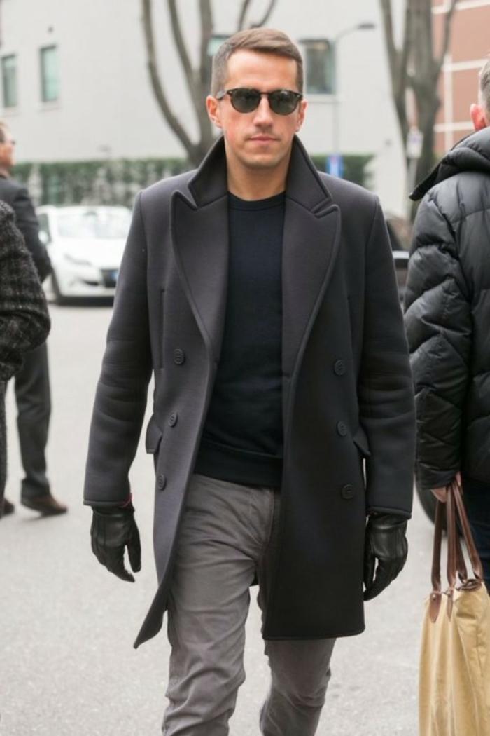 Kombinieren Graue Hosen Männer Graue Hosen Graue Kombinieren