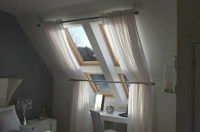 Roof window curtains - ideas and solutions for your own ...