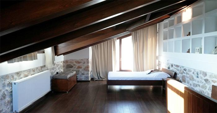 vorhang dachschräge  1001 ideen für dachfenster gardinen