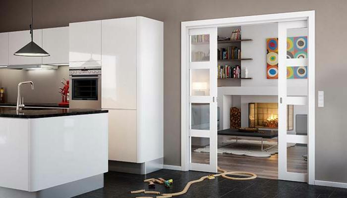 Offene Küche Wohnzimmer Abtrennen   Raumbildender Ausbau ...