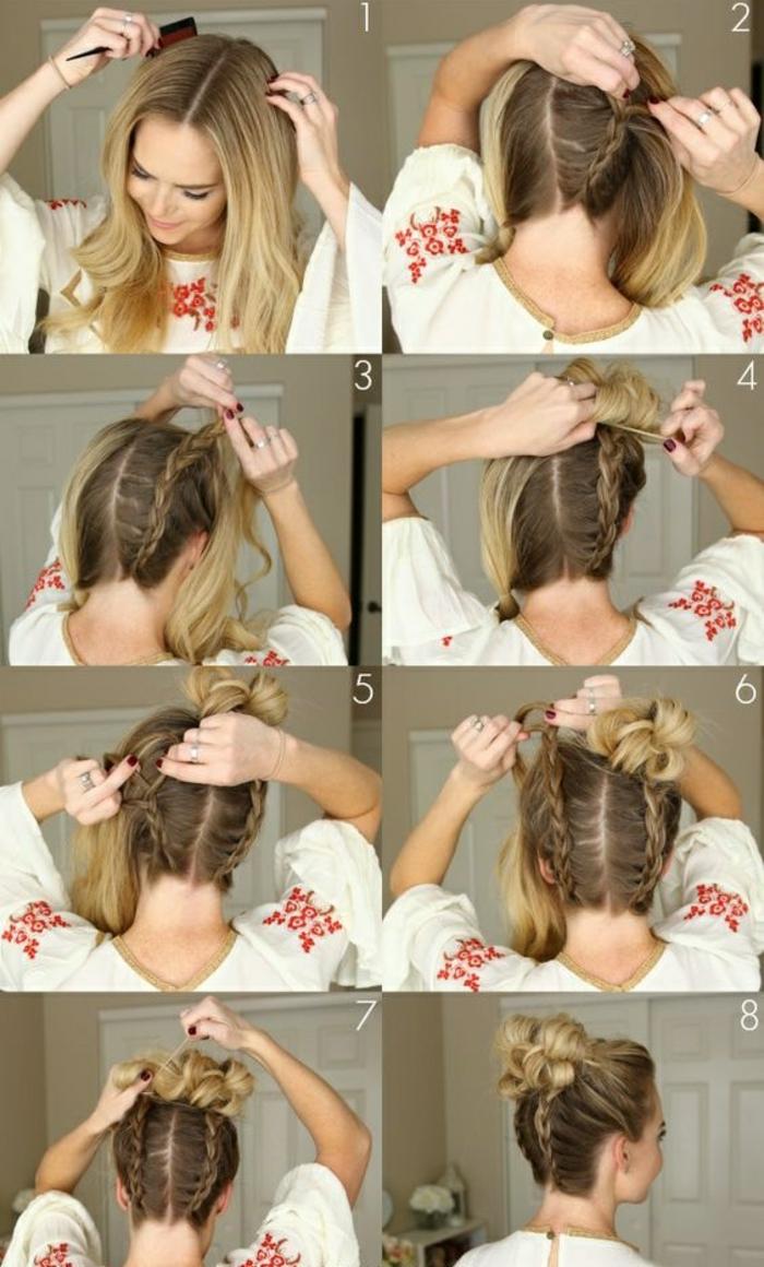 Haarfrisuren Zum Selber Machen Mittellang