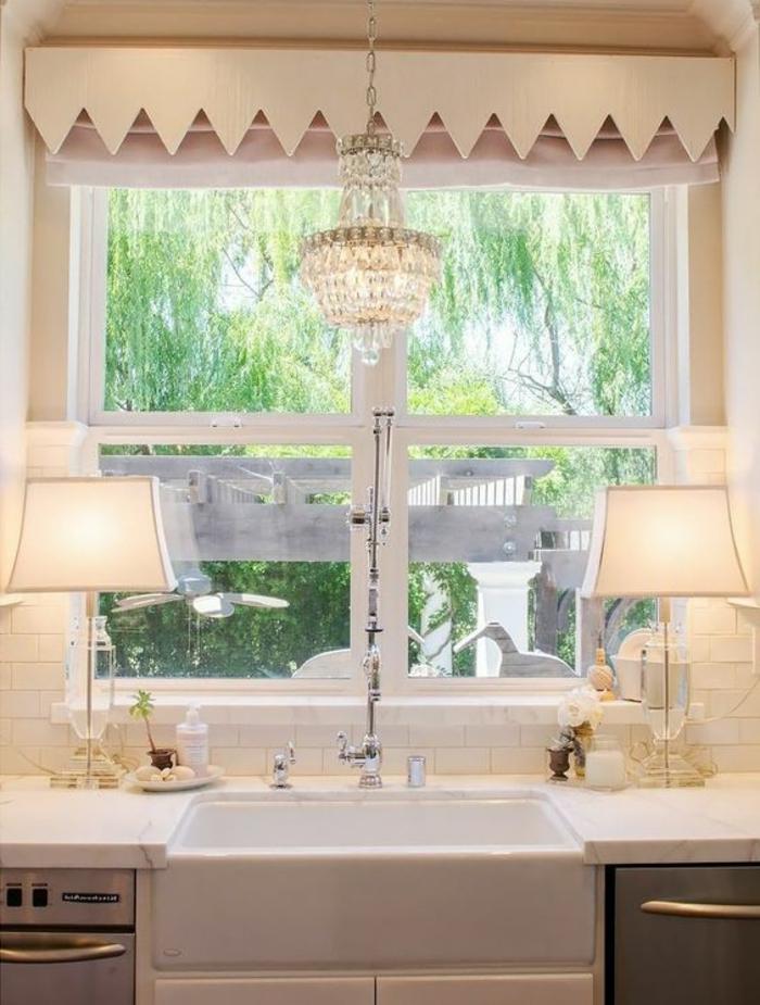 1001 tolle Ideen fr Fensterdeko mit Fensterbank Lampen