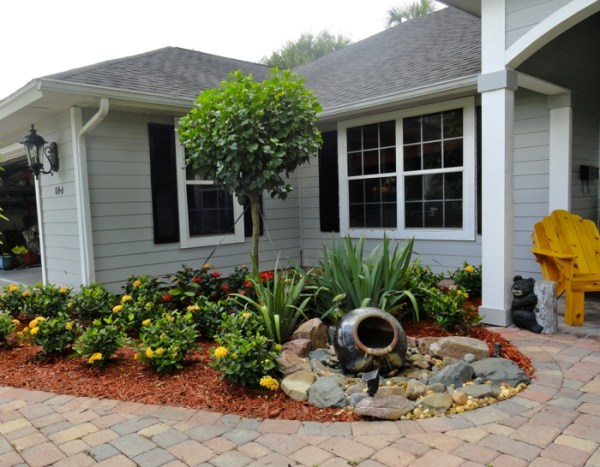25 Simple Front Yard Landscaping Ideas For Shaded Area Pictures And