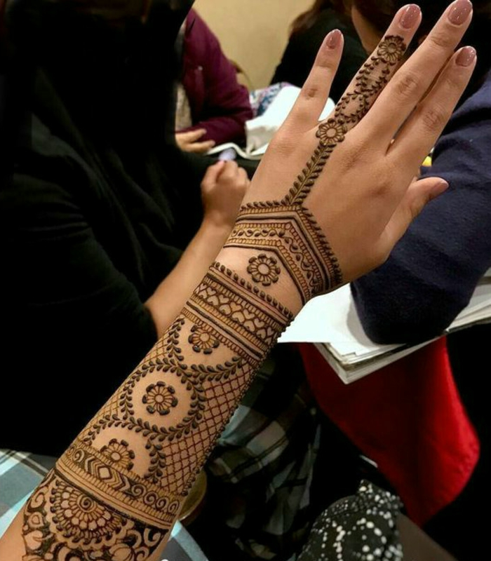 Henna Tattoo  uralte Kunst zur temporren Hautverzierung mit Pflanzenfarbe  Archzinenet