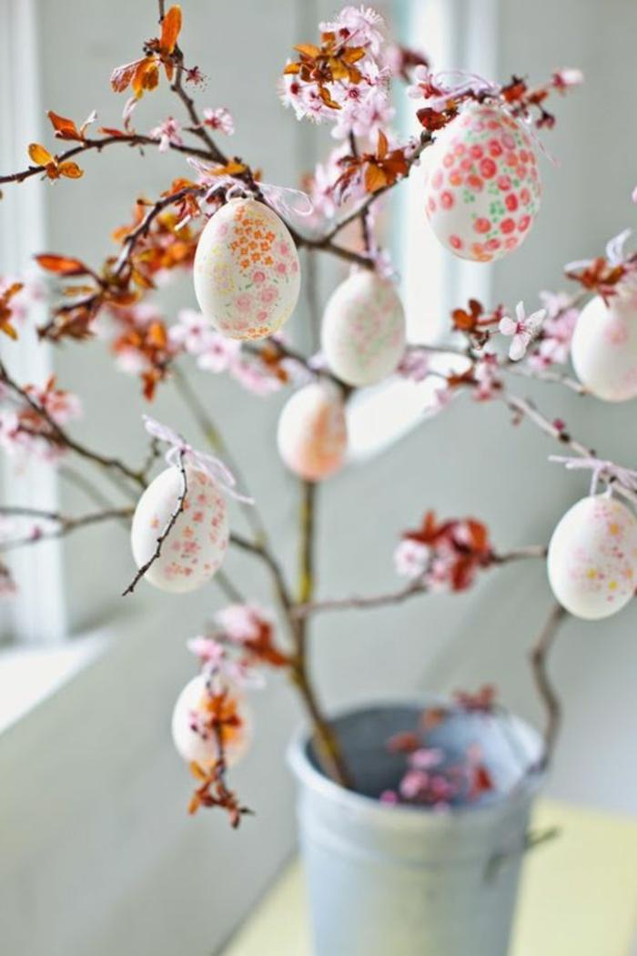 30 Ideen in Bildern fr wunderschne Fensterdeko Ostern