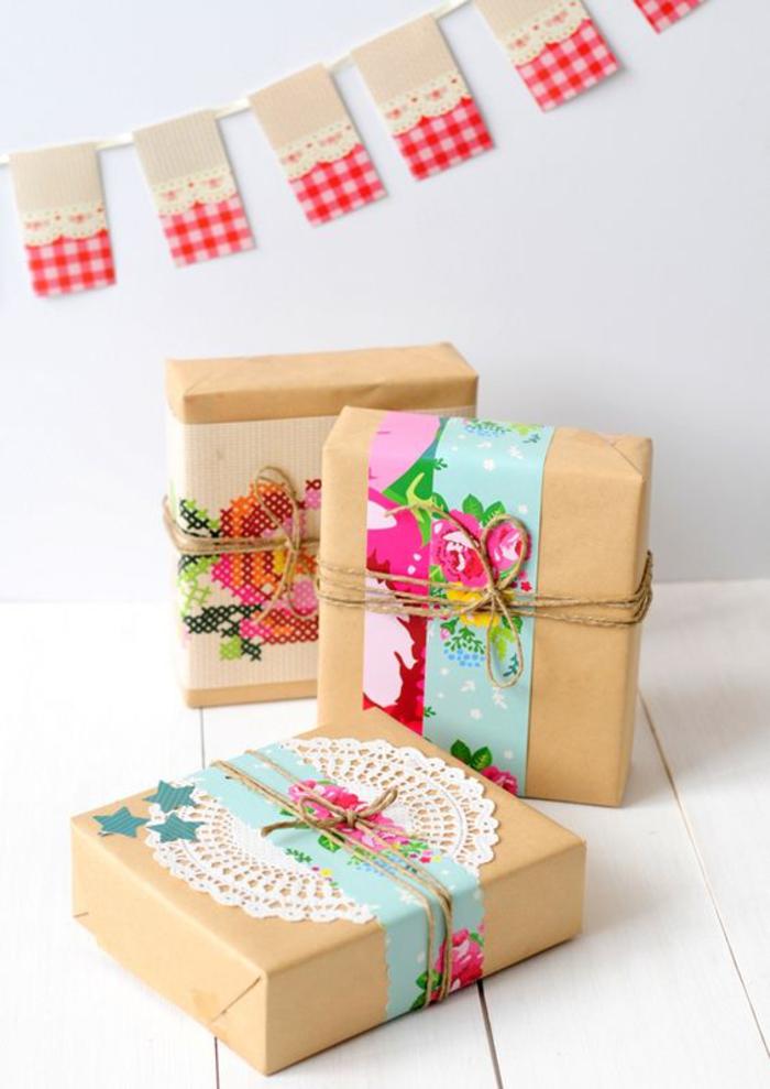 Baby Geschenk Einpacken