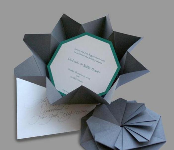 5 Ideen  Einladungskarten selber basteln