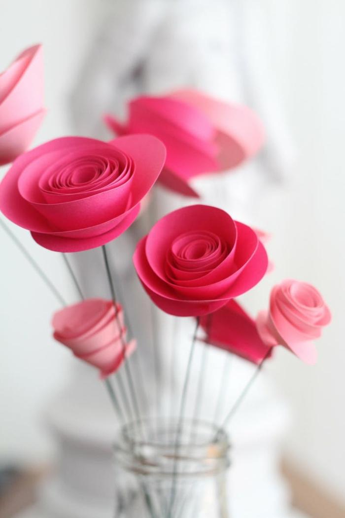 1001 Ideen wie Sie Papierblumen basteln knnen