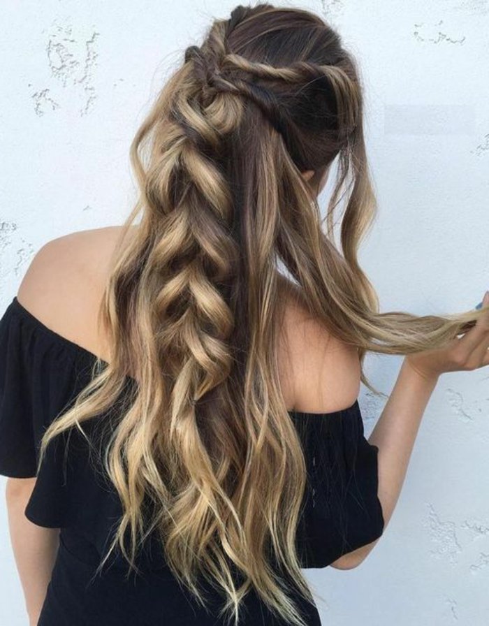 Schnelle Frisuren Mit Langen Haaren Frisuren Haaren Langen